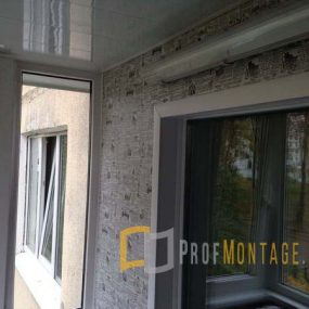Отделка балкона пластиком, Отделка балкона пластиком