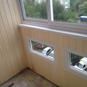 Остекление балкона с выносом, Остекление балкона с выносом