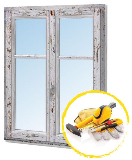 ремонт деревянного окна минск
