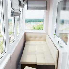 Диванчик на балкон, Диванчик на балкон