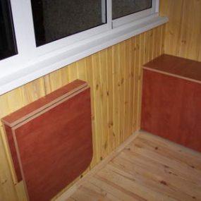 тумба на балкон, Тумба на балкон