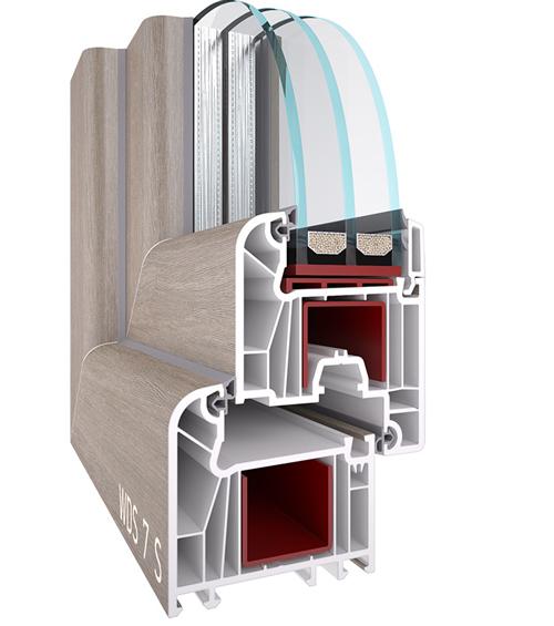WDS-70 окна и двери заказать