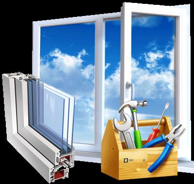ремонт окон и дверей из алюминия